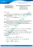 Đề thi HSG môn Toán lớp 10 năm 2012-2013 - Sở GD&ĐT Hải Dương