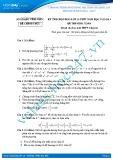 Đề thi HSG môn Toán lớp 10 năm 2012-2013 - Sở GD&ĐT Vĩnh Phúc