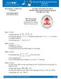 Đề thi tuyển sinh lớp 10 môn Toán (Chuyên) năm 2013-2014 - THPT Chuyên Thoại Ngọc Hầu (Sở GD&ĐT An Giang)