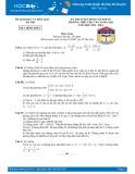 Đề thi tuyển sinh lớp 10 môn Toán (Chuyên) năm 2013-2014 - THPT Chuyên Chu Văn An (Sở GD&ĐT Hà Nội)