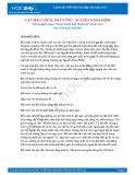 Tổng hợp 6 bài phân tích bài thơ Đất nước của Nguyễn Khoa Điềm