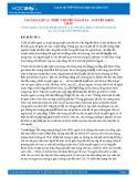 Tổng hợp các bài bình giảng tác phẩm Chiếc thuyền ngoài xa của Nguyễn Minh Châu