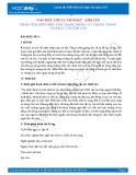 Phân tích diễn biến tâm trạng nhân vật Tràng trong Vợ Nhặt của Kim Lân