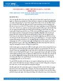 Tổng hợp 6 bài phân tích tác phẩm Chiếc thuyền ngoài xa của Nguyễn Minh Châu