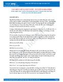Tổng hợp 2 bài phân tích khổ thơ thứ hai trong bài thơ Đất nước của Nguyễn Khoa Điềm