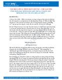 Tổng hợp 6 bài bình giảng khổ 10, 11 trong bài Tiếng hát con tàu của Chế Lan Viên