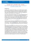 Phân tích sức sống tiềm tàng của nhân vật Mị trong tác phẩm Vợ chồng A Phủ