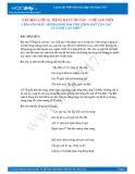 2 Bài văn mẫu bình giảng bài thơ Tiếng hát con tàu của Chế Lan Viên