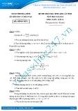 Đề thi học sinh giỏi môn Toán lớp 12 năm 2013-2014 - Sở GD&ĐT Hòa Bình