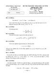 Đề thi học sinh giỏi môn Toán lớp 12 năm 2012-2013 - Sở GD&ĐT An Giang