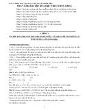 Phân loại bài tập hóa học theo từng dạng