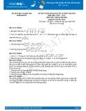 Đề thi tuyển sinh lớp 10 môn Toán (Chuyên) năm 2016-2017 - Sở GD&ĐT Khánh Hoà