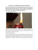 10 mẹo hay cuộc sống giúp cứu nguy khi cần thiết