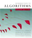 introduction to algorithms second edition