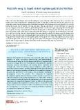 Phát triển vùng: Lý thuyết và kinh nghiệm quốc tế cho Việt Nam