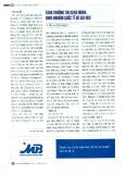 Tăng trưởng tín dụng nóng: Kinh nghiệm quốc tế và bài học