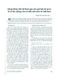 Đồng Nhân dân tệ tham gia vào giỏ tiền quốc tế và tác động của nó đến nền kinh tế Việt Nam