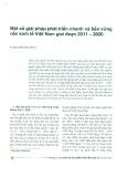 Một số giải pháp phát triển nhanh và bền vững nền kinh tế Việt Nam giai đoạn 2011 - 2020