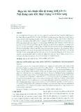 Hợp tác tài chính tiền tệ trong ASEAN+3: Nội dung cam kết, thực trạng và triển vọng