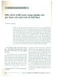 Điều chỉnh chiến lược công nghiệp cho giai đoạn cất cánh kinh tế Việt Nam