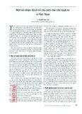 Một số nhận định về cải cách thể chế kinh tế ở Việt Nam