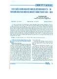 Phát triển thương mại Việt Nam và liên minh kinh tế Á - Âu trong bối cảnh thực hiện các cam kết trong FTA Việt Nam - EAEU