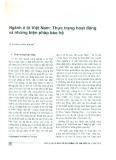 Ngành Ô tô Việt Nam: Thực trạng hoạt động và những biện pháp bảo hộ