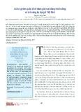 Kinh nghiệm quốc tế về đánh giá hoạt động môi trường và khả năng áp dụng ở Việt Nam