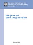 Đánh giá tình hình quản trị công ty của Việt Nam