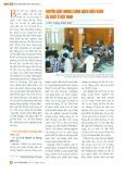 Truyền dẫn trong chính sách điều hành lãi suất ở Việt Nam