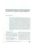 Một số giải pháp nâng cao chất lượng đấu thầu gói thầu EPC ở Việt Nam hậu gia nhập WTO