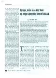 Kế toán, kiểm toán tại Việt Nam hội nhập Cộng đồng Kinh tế ASEAN