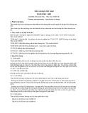 Tiêu chuẩn Việt Nam TCVN 5729:1997