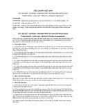 Tiêu chuẩn Việt Nam TCVN 5790:1994