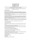 Tiêu chuẩn Quốc gia TCVN 5699-2-35:2007 - IEC 60335-2-35:2005