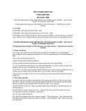 Tiêu chuẩn Quốc gia TCVN 5408:2007 - ISO 01461:1999