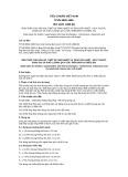 Tiêu chuẩn Việt Nam TCVN 5893:1995 - ISO 1129- 1980