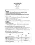 Tiêu chuẩn Việt Nam TCVN 5837:1994