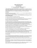 Tiêu chuẩn Việt Nam TCVN 5845:1994