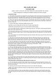 Tiêu chuẩn Việt Nam TCVN 5637:1991