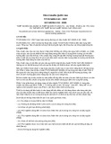 Tiêu chuẩn Quốc gia TCVN 5699-2-53:2007 - IEC 60335-2-53:2005