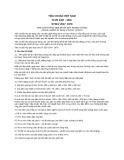 Tiêu chuẩn Việt Nam TCVN 5437:1991 - STSEV 2047: 1979