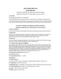 Tiêu chuẩn Quốc gia TCVN 5535:2010