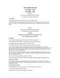 Tiêu chuẩn Quốc gia TCVN 5965:1995 - ISO 1996/3:1987
