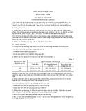 Tiêu chuẩn Việt Nam TCVN 5770:1993