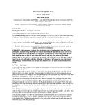 Tiêu chuẩn Quốc gia TCVN 5363:2013 - ISO 4649:2010