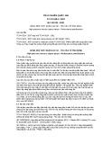 Tiêu chuẩn Quốc gia TCVN 5324:2007 - IEC 60188:2001