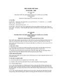 Tiêu chuẩn Việt Nam TCVN 5789:1994
