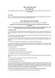 Tiêu chuẩn Việt Nam TCVN 5655:1992
