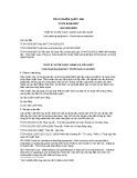Tiêu chuẩn Việt Nam TCVN 6256:2007 - ISO 923:2000